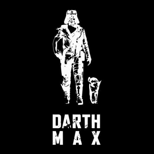 Darth Max illustrations by oldtee.com