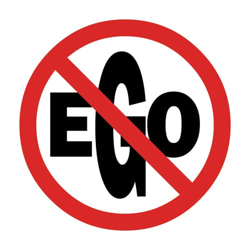 No ego illustrations by oldtee.com