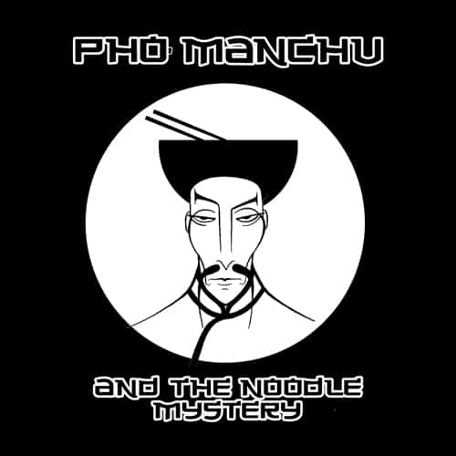 Pho Manchu illustrations by oldtee.com