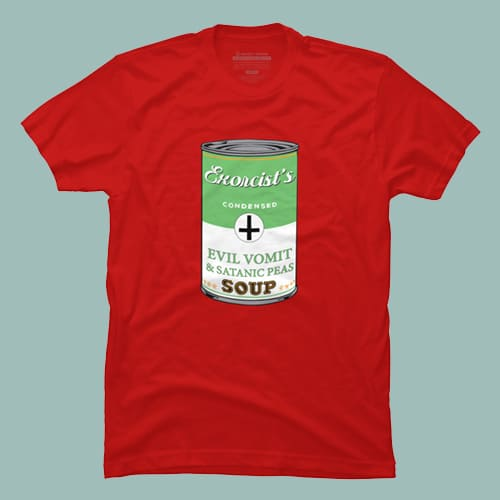 Exorcist's soup T-shirt by oldtee.com