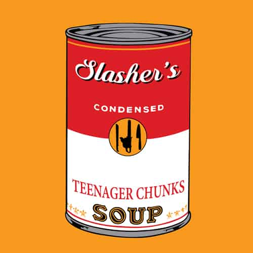 Slasher's soup illustrations by oldtee.com