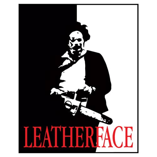 Leatherface Scarface by oldtee.com