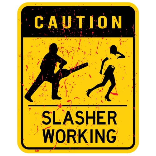 Slasher Working oldtee.com