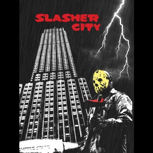 Slasher City By oldtee.com vintage crossover