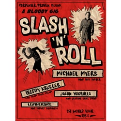 Slash and Roll By oldtee.com vintage crossover