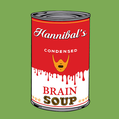 Hannnibal's soup By oldtee.com vintage crossover