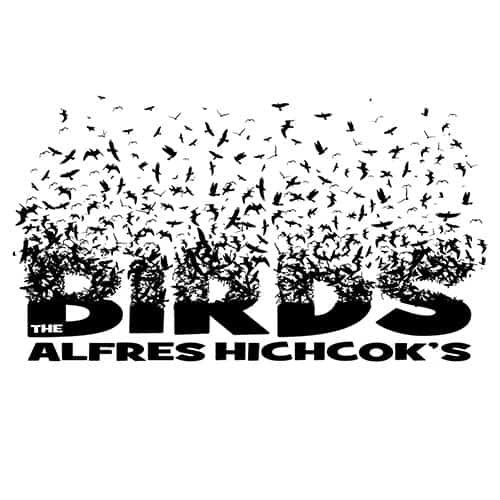 the birds Hitchcock by oldtee.com vintage crossover